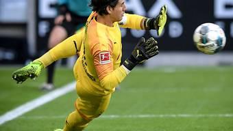 Yann Sommer parierte unter anderem einen Penalty