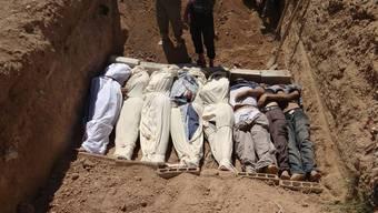 In Syrien starben nach Angaben der Hilfsorganisation Ärzte ohne Grenzen (MSF) mehrere hundert Menschen mit «neurotoxischen Symptomen».