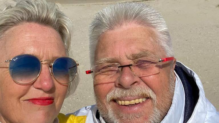 Jörg mit seiner Frau