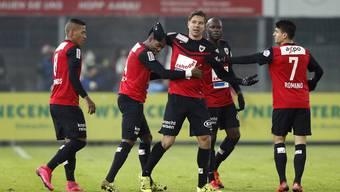 FC Aarau - Le Mont, 05.12.2015