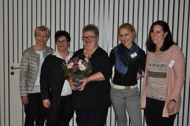 Edith Stäuble, Regula Weber, Gaby Weiss, Katrin Moser, Daniela Oeschger