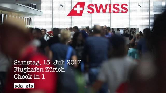 Ferienanfang stellt Flughafen Zürich auf Bewährungsprobe
