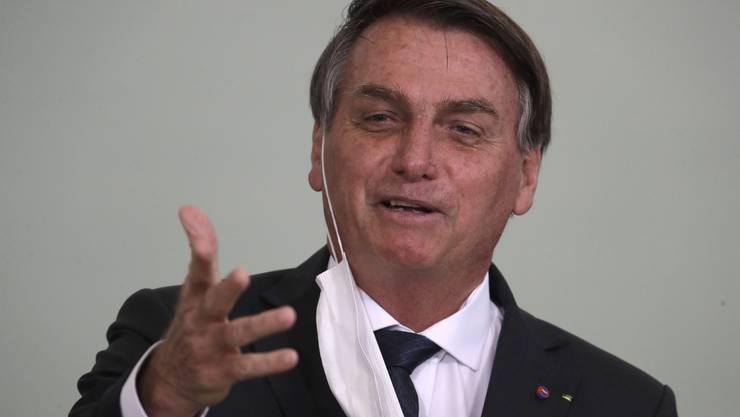 Hat gut lachen: Jair Bolsonaro, 65, wird in Brasilien immer beliebter.