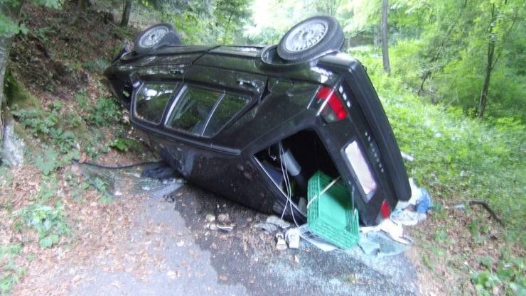 Unfall in Langenbruck