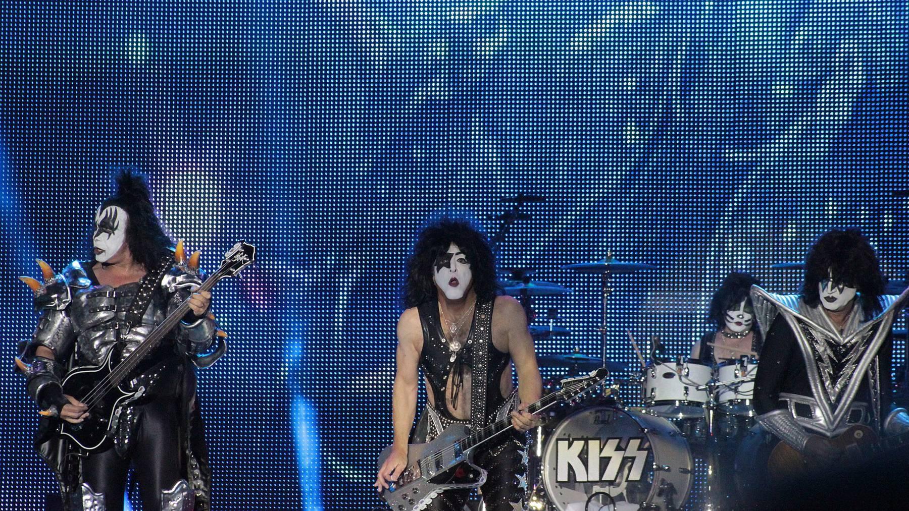 Kiss! Letzte Tour auch mit Show in der Schweiz