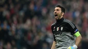Gianluigi Buffon setzte eine neue Bestmarke