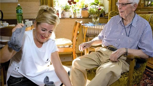 Klientinnen und Klienten aus 10 Gemeinden werden vom Krankenpflegeverein Lenzburg betreut.