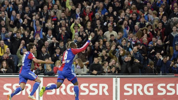 Der FC Basel hat allen Grund zu jubeln.