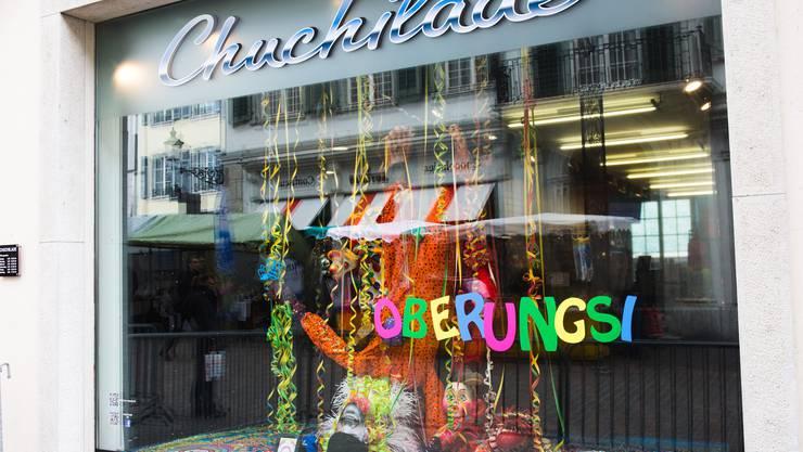 Als «Höhepunkt» bezeichnet: Schaufenster des Chuchilade