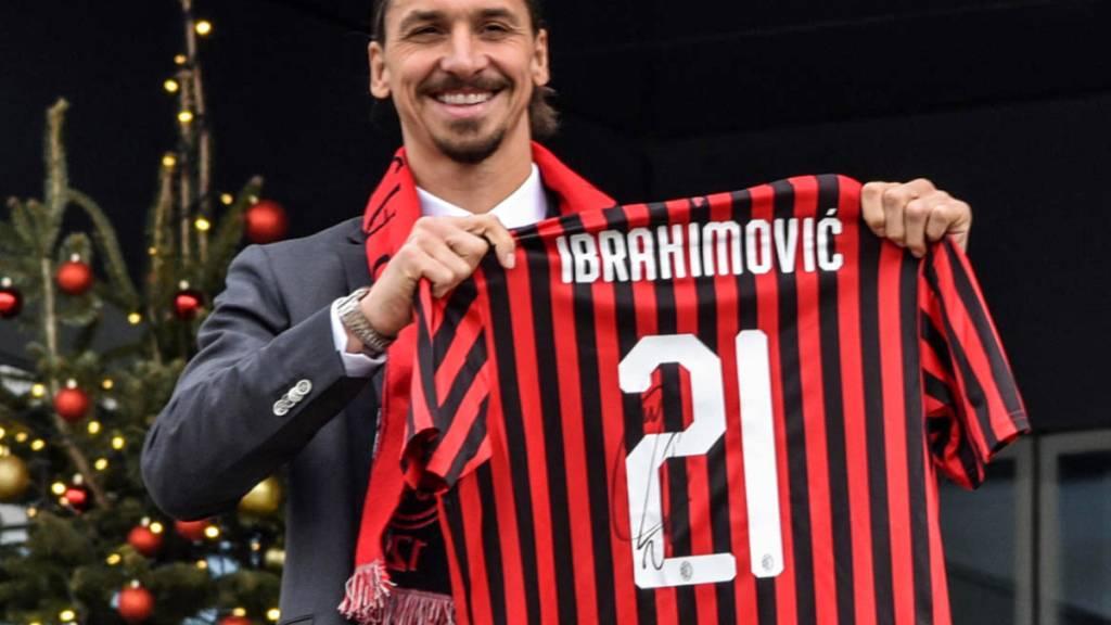 Zlatan Ibrahimovic tritt diese Woche mehrmals beim Sanremo-Festival auf