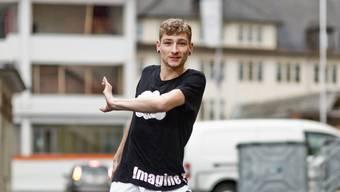 Tänzer Michael Peier aus Lenzburg