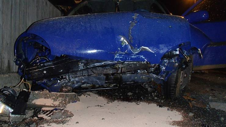 Der Unfall ereignete sich am frühen Dienstagmorgen.