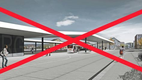 Das Projekt Loop für die Neugestaltung des Lenzburger Bahnhofplatzes ist mit den neuen Rahmenbedingungen «gestorben».