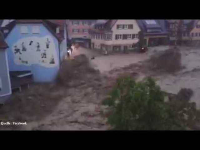 Unwetter in Braunsbach / 29.05.2016