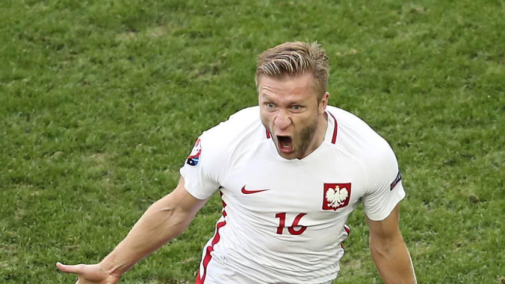 Einziger Torschütze: Polens Jakub Blaszczykowski