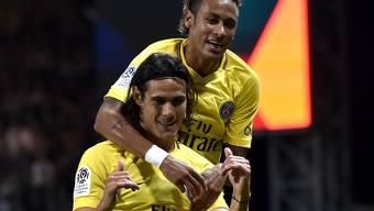 Neymar war in seinem ersten Spiel für Paris Saint-Germain auch Torschütze
