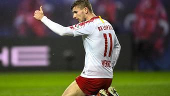 Timo Werner schoss beim Sieg von Leipzig gegen Mönchengladbach seinen Saisontore 7 und 8