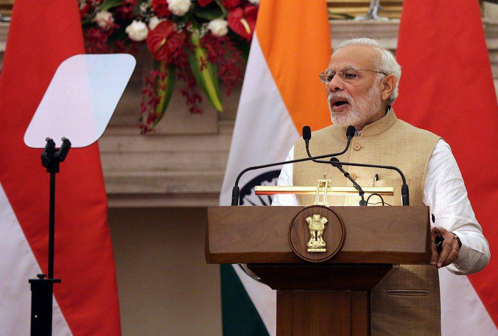 Platz 9: Narendra Modi, Premierminister Indiens (© EPA HARISH TYAGI)