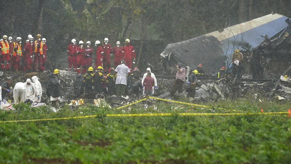 Das Boeing-Flugzeug des Typs 737 zerschellte nach dem Start nweit des internationalen Flughafens von Havanna auf Kuba. 110 Menschen an Bord kamen ums Leben.