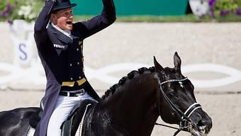 Bein Comeback gleich ein Sieg: Matthias Alexander Rath und Totilas