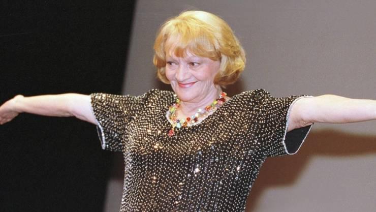 """August: Die Schweizer Schauspielerin und Sängerin Ines Torelli ist in ihrer Wahlheimat Kanada im Alter von 88 Jahren gestorben. Als Schauspielerin war sie für ihre Rolle in """"Die kleine Niederdorfoper"""" und als Sängerin für """"Gigi vo Arosa"""" bekannt."""