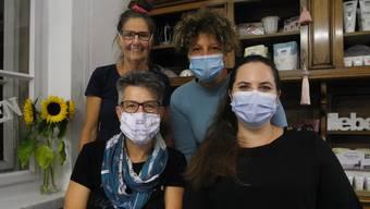 Von links: Corinne Frischknecht, Silvia Bren, Angelina Seifert und Laura Kappeler inspirierten im «Mis Kaffi».