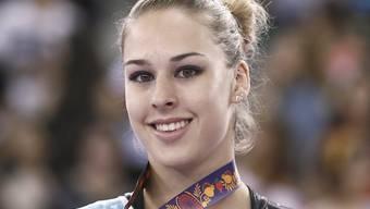 Giulia Steingruber wird an der Eröffnungszeremonie die Schweizer Fahne tragen.