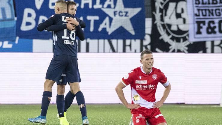 Für Thun und Stefan Glarner lief es in der Vorrunde nicht.