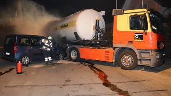 Angenommen: Ein Lastwagen, beladen mit «gefährlichem Stoff», kollidiert mit einem Personenwagen.
