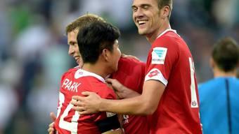 Jubelt künftig für Dortmund: Der ehemalige Basler Park Joo-Ho