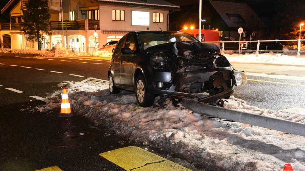 Mehr Unfälle mit Alkohol am Steuer