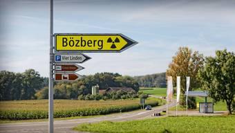 Das Gebiet Jura Ost rund um den Bözberg ist ein möglicher Standort für ein Atommüll-Tiefenlager. In der Regionalkonferenz reden auch Deutsche mit.Fotomontage KEY