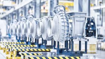 Die Turbolader der ABB kommen unter anderem in Schiffen und Dieselkraftwerken zum Einsatz.