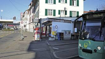 Noch befindet sich die Wendeschlaufe des 6er-Trams vor dem Zoll Riehen/Lörrach. Das könnte sich ändern.