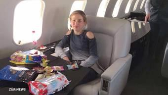 Die tschetschenische Familie aus Kilchberg ist wieder in Grosny. Der Flug mit dem Privatjet und der Beamten-Einsatz kosteten über 100`000 Franken.