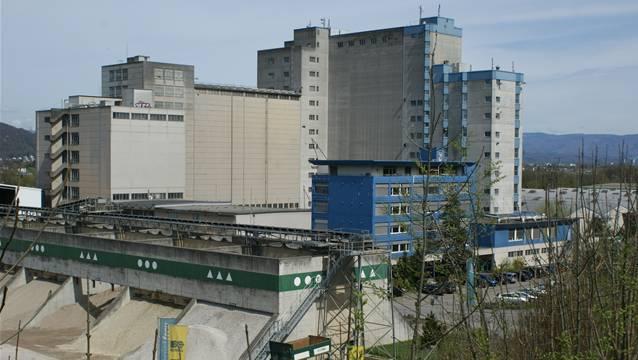 Das Provimi-Kliba-Areal in Kaiseraugst : Hier würde das geplante Holzheizkraftwerk der Industriellen Werke Basel (IWB) entstehen