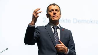 Die FDP in der Krise und mit ihr Bundesrat Ignazio Cassis.