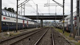 Am Bahnhof Brugg ist der Verkehr beeinträchtigt.