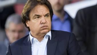 Sion-Präsident Christian Constantin blieb dem Stadion Tourbillon fern