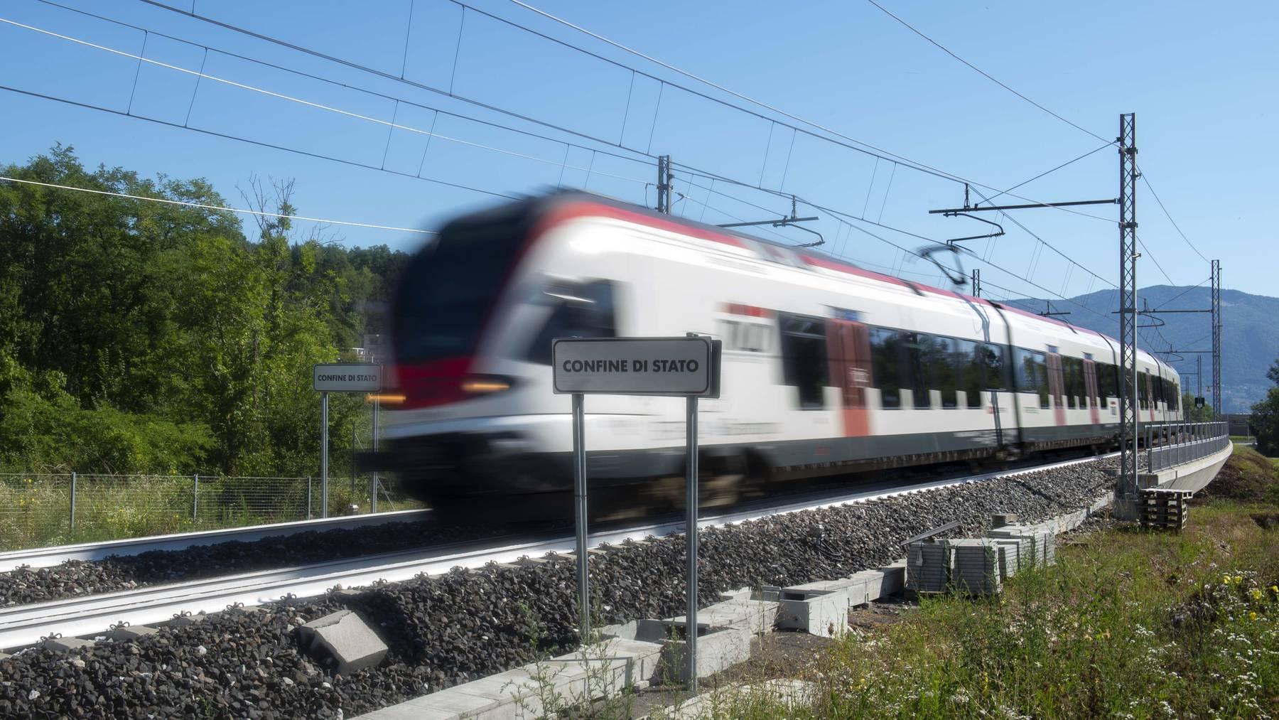Die SBB kappen ihre Zugverbindungen nach Italien auf unbestimmte Zeit. (Symbolbild)