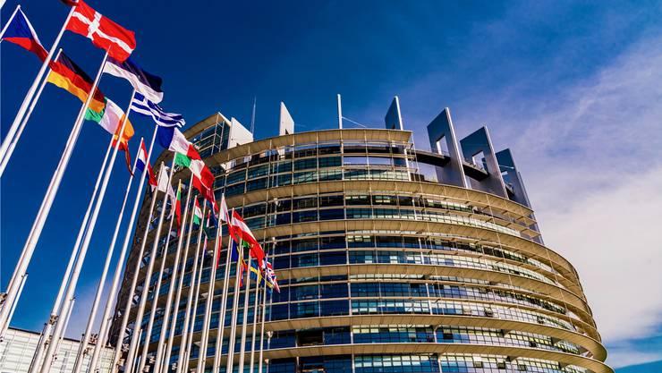 Zankapfel EU-Parlament: 4500 Personen pendeln regelmässig von Brüssel hierher nach Strassburg. Shutterstock