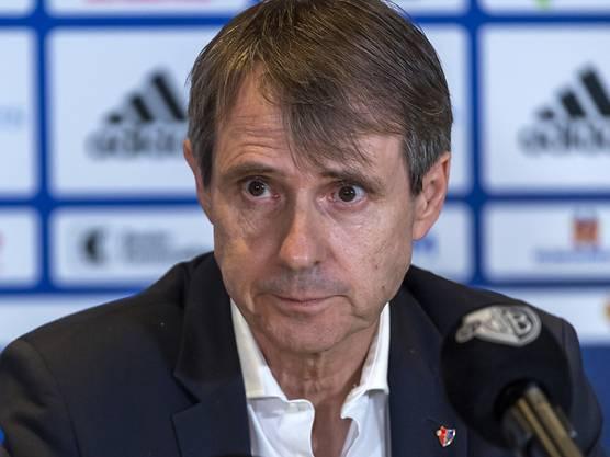 FCB-Präsident Bernhard Burgener zieht sich aus dem Vereinsvorstand zurück.