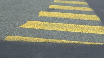 Unfall auf einem Fussgängerstreifen in Biel (Symbolbild)