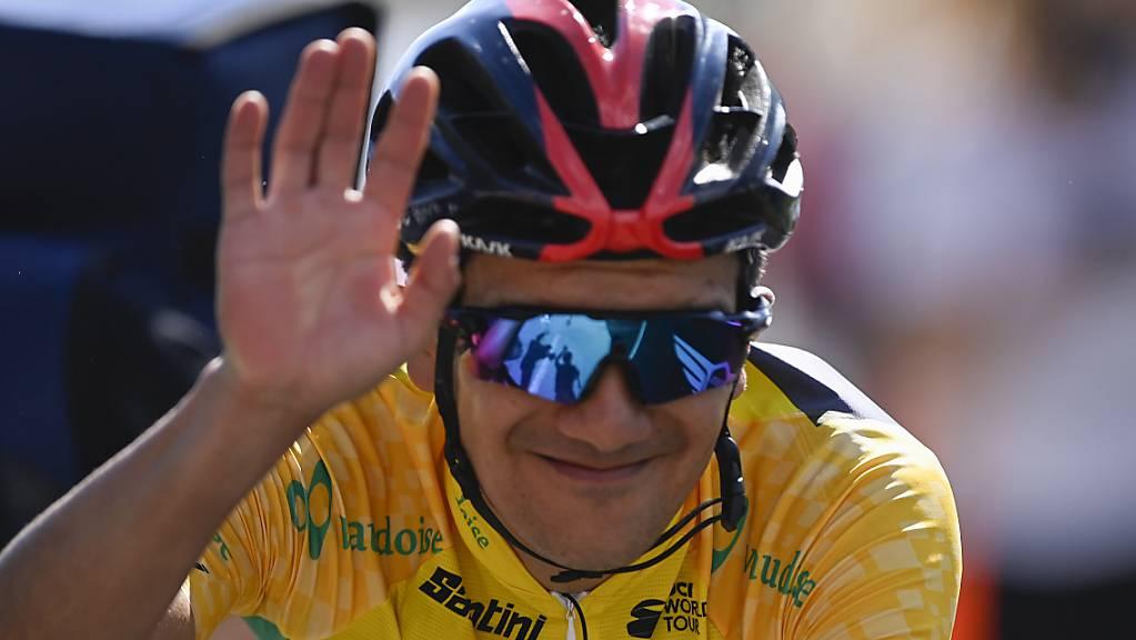 Richard Carapaz gewinnt als erster Fahrer aus Ecuador die Tour de Suisse