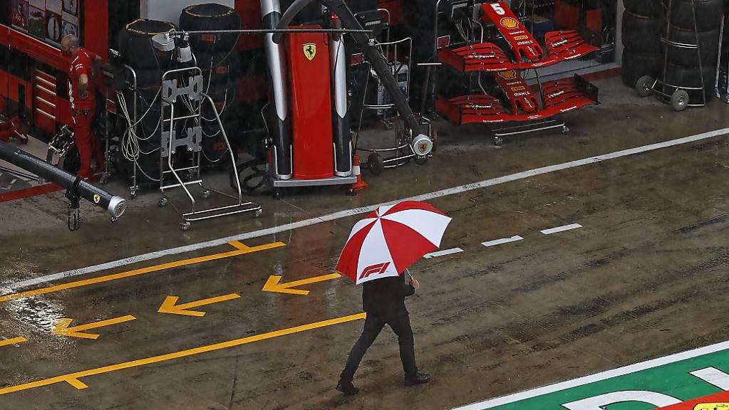 Das dritte Training für den Grand Prix der Steiermark fiel dem Regen zum Opfer
