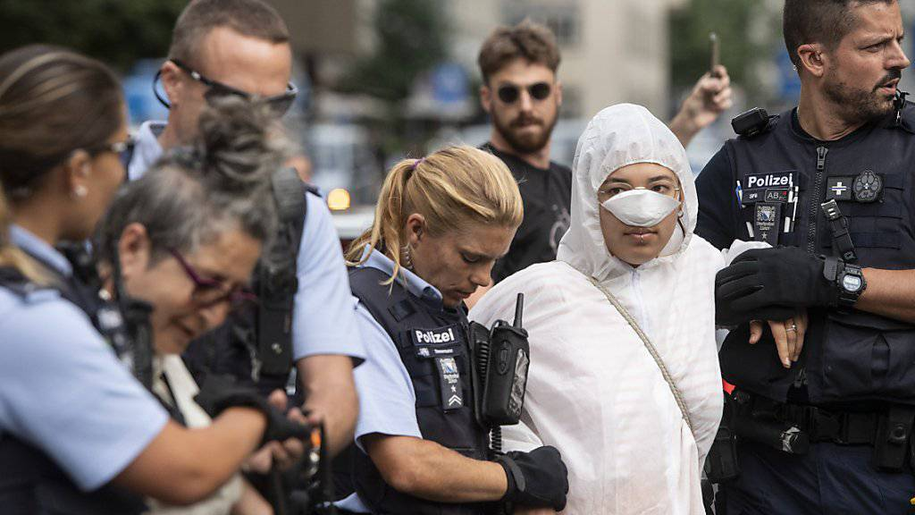 Zürcher und Basler Klima-Aktivisten ziehen vor Gericht