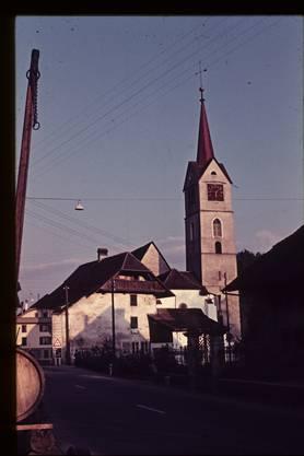 So sah der Kirchturm vor dem Einsturz aus