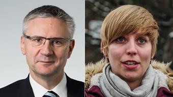 Andreas Glarner über Johanna Gündel: «Wenn Frau Gündel uns vorwirft, wir würden Reiche bevorzugen und dabei Vorschriften verletzen, geht das eindeutig zu weit.»
