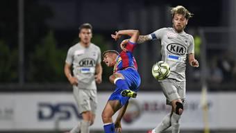 Der FC Aarau will die Vorrunde mit einem Sieg über Chiasso beenden.