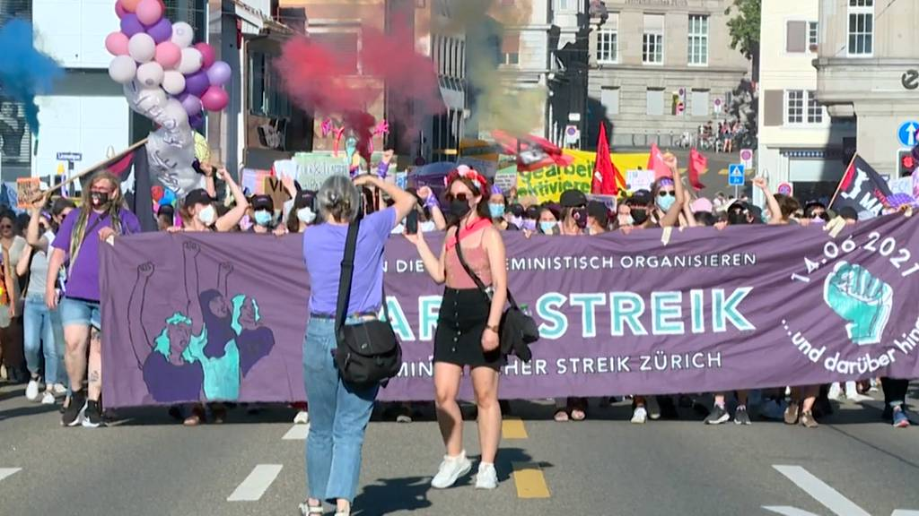 Frauenstreiktag: Kundgebungen für Lohngleichheit